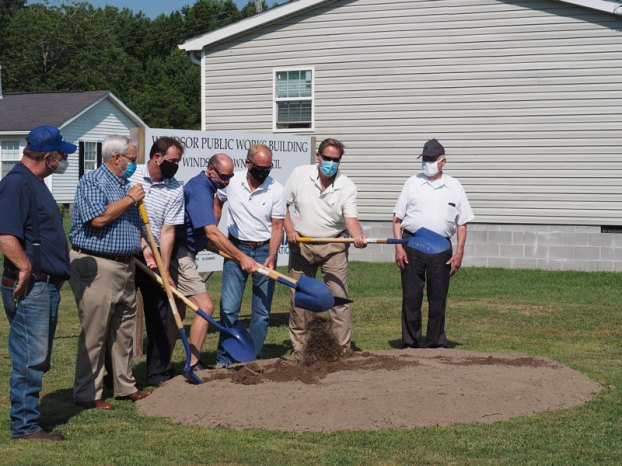 windsor public works groundbreaking